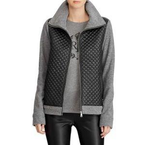 NWT Ralph Lauren quilted fleece jacket